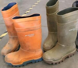 BUYING This Type Of Boots..DUNLOP WORKBOOTS