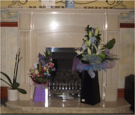 Stunning Marble Fireplace