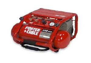 Porter Cable 150 PSI Portable Air Compressor (C3151) AS IS $80