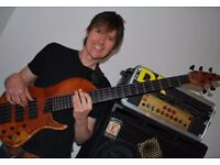 Bass Guitar Tuition Cardiff (30min taster lesson free)