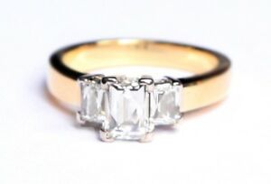 Tycoon Cut 3 Stone Gregory Brothers 0.80ct central GVS1 GIA Ring Bondi Junction Eastern Suburbs Preview