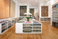 **Design,Custom Drapery&Blinds, **Free Shop at home service**