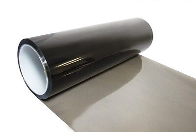 30cm x 200cm Light Smoke Black Tint Film Headlights Tail lights Car Vinyl Wrap