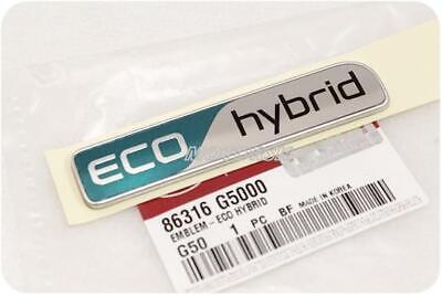 GENUINE KIA NIRO ECO HYBRID Rear EMBLEM 1EA 86316G5000