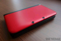Nintendo 3ds xl red