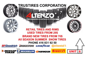 SALE NEW AND USED TIRES +FREE INSTALLATION!