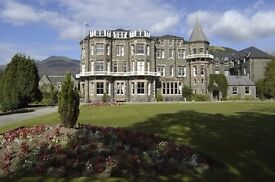 Lake District Hotel looking for a Junior Chef de Partie and Food Service Asst - Live-in available