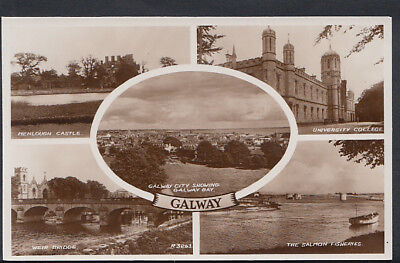 Ireland Postcard - Views of Galway   RS5161