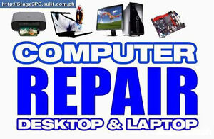 Repair Computer Laptop And Install Windows