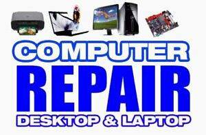 Desktop PC, Mac, Laptop Repair !! Very Reasonable Price 40$