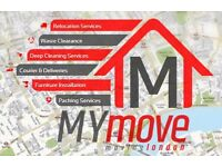 My Move Removal, Man & Van, House Clearance, Furniture Installation, Property Services, Short Notice