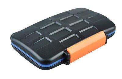 JJC Multi Memory Card Case MC-4 Speicherkarten Schutzbox CF Micro SD XD Karten Memory Card Case