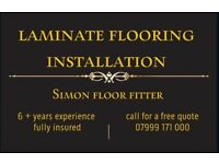 Laminate flooring instalation