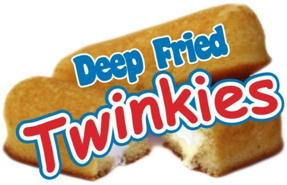 """Twinkies Deep Fried Decal 10"""" Concession Food Truck Vinyl Sign Sticker"""