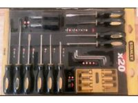 Stanley 60-220 20 Piece, Versatile Screwdriver Set,
