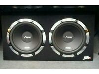 Twin subs amp and 6x9s