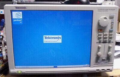 Tektronix Tla7012 Logic Analyzer With 2 Tla7aa4 8g Timing 450mstate