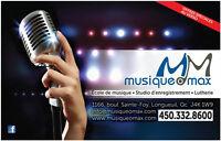 studio d'enregistrement a Longueuil prix demo 500$