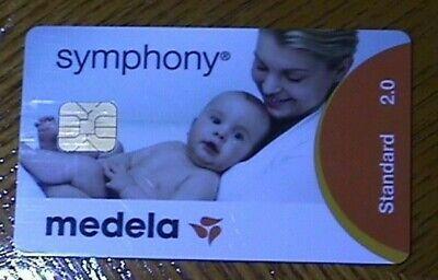 Medela symphony 2.0 standard operation Card (used)