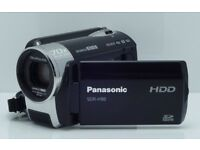 PANASONIC SDR-H90 CAMCORDER 80GB HDD DISC DRIVE / SD CARD DIGITAL VIDEO CAMERA