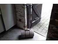 Steel 150lb lino / garden roller