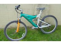 Mens raleigh suspension bike in great condition