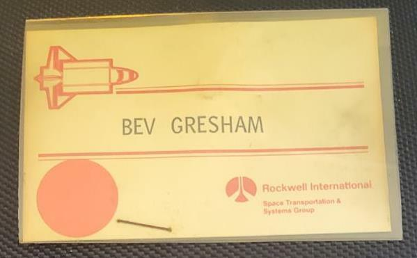 ROCKWELL INTERNATIONAL PASS Space Transportation & Systems NASA Space Shuttle