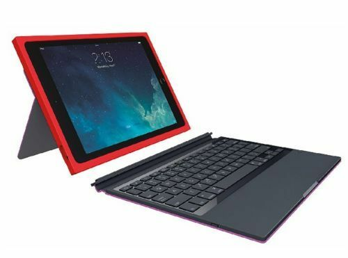 New Logitech BLOK Protective Keyboard Case for Apple iPad Ai