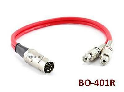 Cablesonline 1ft Bang & Olufsen Din 5-pin Plug To 2-rca J...