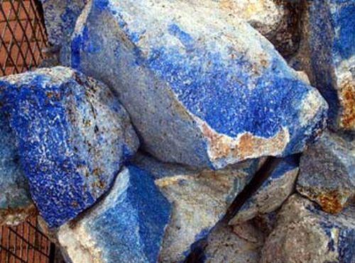 1 kg Lapis-Lazuli Wasserstein Rohstein Edelstein Mineralien Heilstein in Stücken