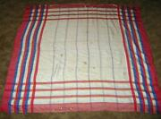 Vintage Colorful Tablecloth