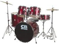 CB Drum Kit in Blue