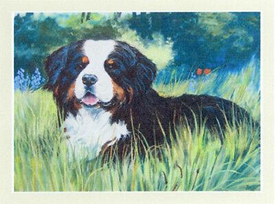 BERNESE MOUNTAIN DOG BMD BERNER SENNENHUND DOG ART LIMITED EDITION PRINT