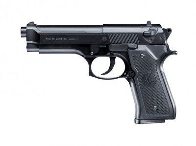 Federdruck Softair Pistole Beretta M92 FS mit 0,5 Joule und Metallschlitten von  ()