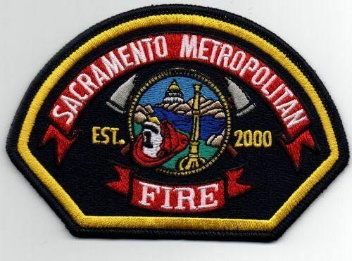 CALIFORNIA CA SACRAMENTO METROPOLITAN FIRE DEPARTMENT NEW PATCH POLICE SHERIFF