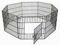 animal playpen indoor and outdoor use lightweight foldablr