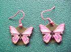 Butterfly Wood Fashion Earrings