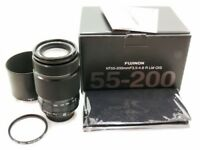 Fujifilm FUJINON XF55-200 mm F3.5-4.8 lens + Hoya Filter LIKE NEW!