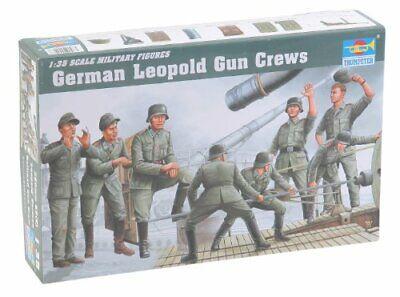 Trumpeter 00406 Modellbausatz Deutsche Artillerie Besatzung für Leopold