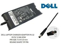 Genuine Original DELL Inspiron PA12 Laptop Charger 19.5V 3.34A 65W