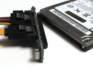 Laptop 2.5'' IDE to SATA adapter to connect old laptop hard driv