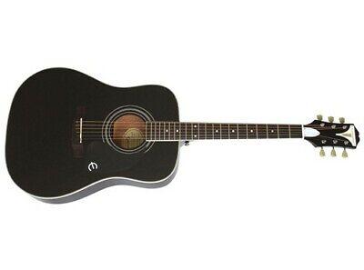 Epiphone PRO-1 Plus Acoustic Guitar (Ebony)