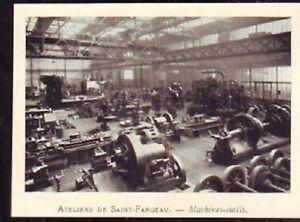 1929 ateliers de saint fargeau machines outils w185 ebay. Black Bedroom Furniture Sets. Home Design Ideas