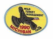 Michigan Turkey Patches