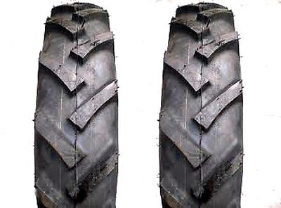 Two 7.50-20 8pr Bkt Lug Tires Tubes For Front And Rear On Tractors