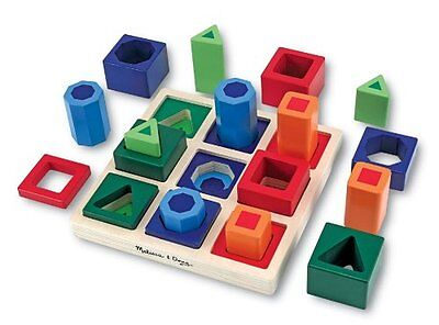 Melissa and Doug Shape Sequence Sorting Set , New, Free Shipping