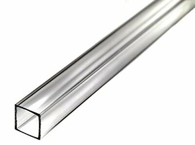 36 Acrylic Square Tube Clear - 78 Id X 1 Od X 116 Wall Nominal