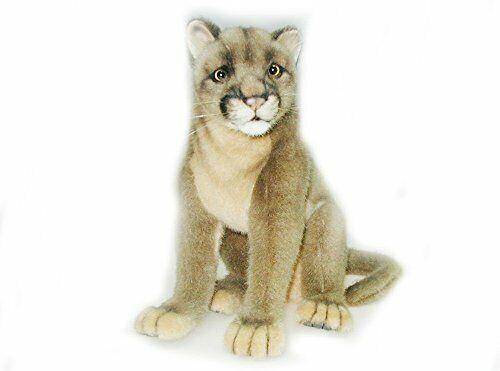 "Cougar (Puma) (Mountain Lion) Plush Toy by Hansa 9.5"" H"