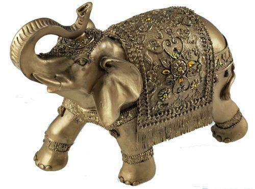 elephant figurine ebay. Black Bedroom Furniture Sets. Home Design Ideas