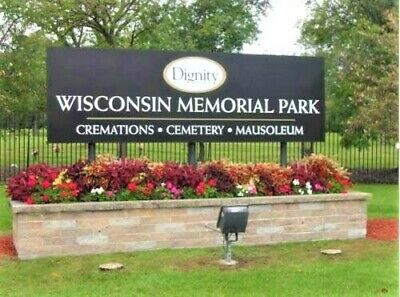 Wisconsin Memorial Park WI PRIME LOCATION Cemetery Plots = You Choose